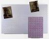 <br/>Tissu décoratif contrecollé sur bois, canevas, laine<br/>200 x 159 x 12 cm<br/>©François Fernandez