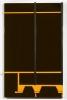 automobile sur tôle, vernis, caoutchouc<br/>175 x 110 x 19 cm<br/>Collection MNAM, Paris<br/>©François Fernandez